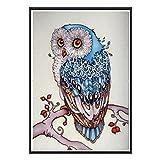 DIY Diamond Art of 5D Diamond Embroidery Owl Diamond Painting