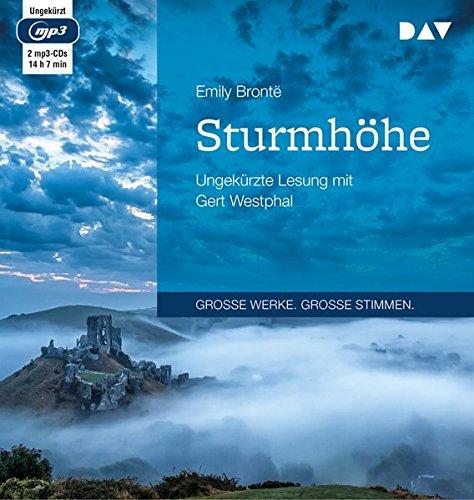 Sturmhöhe: Ungekürzte Lesung mit Gert Westphal (2 mp3-CDs)