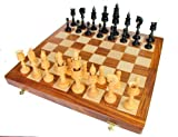 16 X 16 Collectible Wooden Folding Chess...