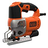 BLACK+DECKER BES610K-QS Seghetto Alternativo in Valigetta, 650 W, 650W
