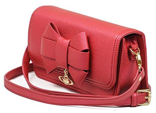 Vivienne Westwood VW Bow Borsa Piccola Red