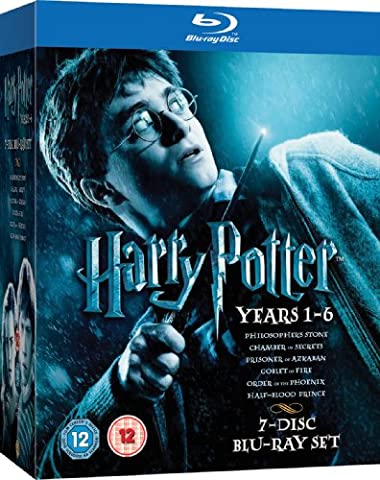 Harry Potter Collection - 1-6 [Blu-ray] [Import anglais]