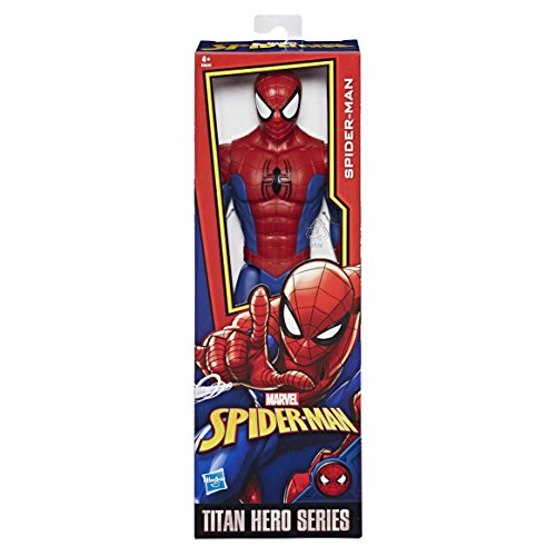 Marvel Spiderman Spiderman Titan Hero Series Spider-Man, única (Hasbro E0649EU4)