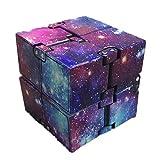 Pywee Infinity Cube, Galaxy Würfel Spielzeug, Magic Unendlicher Flip Würfel Dekompression...
