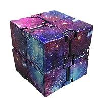 Descrizione 1.Nessun angolo è tagliato nella fabbricazione di ciascun Cubo Infinito.2. Ogni componente di Infinity Cube è realizzato con materiali di alta qualità, lavorati a CNC e rifiniti a mano.3. Ogni sub cubo viene lavorato e assemblato con prec...