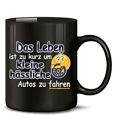 Golebros Das Leben ist zu kurz um kleine hässliche Autos zu Fahren 4558 Handwerker KFZ Mechaniker...