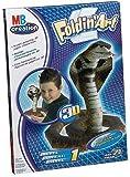 Foldin\' Art - 3D Paper Cobra Snakel - Level 1