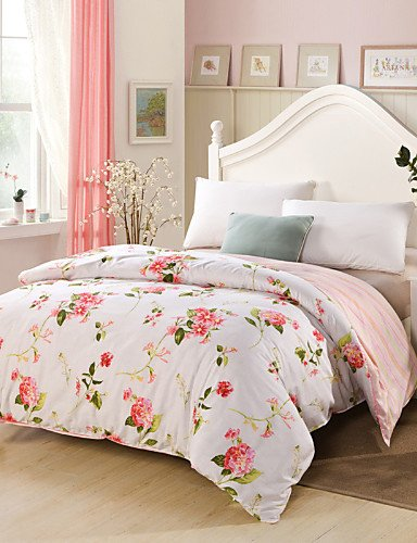 Baumwolle Königin Futon Cover (ZHUAN GAOHAIFQ®, vierteilige Anzug, 100% Baumwolle Königin Bettbezug Comfortble für Einzel- oder Doppelbettgröße, Full)