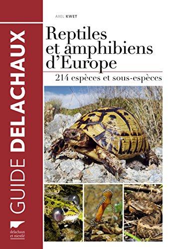 reptiles-et-amphibiens-deurope-214-especes-avec-carte-de-repartition