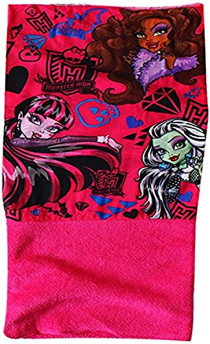 Girls Monster High Snood / Scarf With Fleece Lining