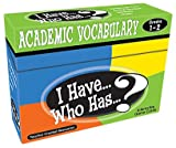 Best Vocabulary Softwares - I Have...Who Has...? Academic Vocabulary Grades 1-2 Review