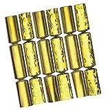 6x Knallbonbon Gold Luxury Decor 18cm - perfekt für Silvester, Fasching & Geburtstag