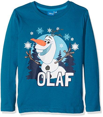 Frozen FZOL46103, Suéter Para Niños, Azul (D Petrol), 6 Años