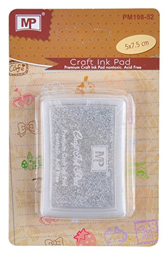 MP PM198-52 - Tinta de scrapbooking, color plata