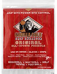 Aero tazones gorila paño de oro agarre Enhancer cuencos Golf tenis fútbol Béisbol