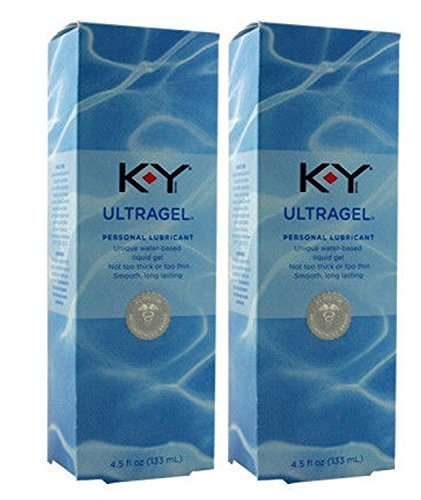 ky-ultra-gel-water-based-lubricant-formerly-sensual-silk-size-45-oz-133-ml-pack-of-2-by-k-y