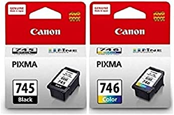 Canon Combo of PG-745 Fine And CL-746 Ink Cartridge (PG-745Black:CL-746 Color)