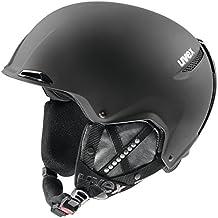 Uvex JAKK+ Esquiar Poliestireno expandido (EPS) Negro casco de protección - Cascos de protección (Esquiar, Negro, Poliestireno expandido (EPS), XXS/XS/S, Mate, 52 - 55 cm)