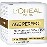 #2: Loreal Age Perfect Anti-Sagging + Anti- Age Spots Rehydrating Day Cream 50ml with Ayur Product in Combo