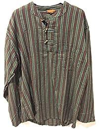 7a81f116d6 Amazon.it: camicia etnica uomo - Uomo: Abbigliamento