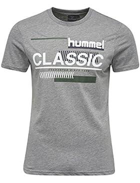 Hummel T-Shirt Herren - TABLE TEES CRUZ SS TEE - Trainingsshirt Baumwolle kurze Ärmel - Fitnessshirt Freizeit...