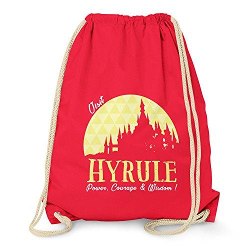 TEXLAB - Visit Hyrule - Turnbeutel, (Nerd Männer Kostüm Cute)