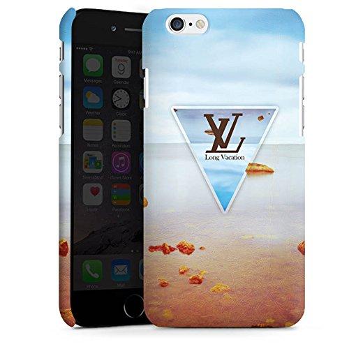 Apple iPhone X Silikon Hülle Case Schutzhülle Urlaub Strand spruch Premium Case matt