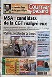 Telecharger Livres COURRIER PICARD No 18876 du 29 01 2005 DISPARITION LE DERNIER DINER DE JACQUES VILLERET MSA CANDIDATS DE LA CGT MALGRE EUX ROYALLIEU ANTICHAMBRE DE LA MORT SOCIAL FIN DE LA GREVE DES CONTROLEURS DE LA SNCF PICARDIE LE NOMBRE DE CHOMEURS EN HAUSSE EN 2004 FOLLEVILLE L AVENTURE MEDIEVALE CONTINUE FOOTBALL LA SERIE NOIRE CONTINUE POUR L AMIENS SC (PDF,EPUB,MOBI) gratuits en Francaise