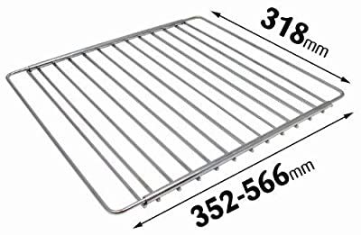 Universal Chrome Plated Adjustable Fridge Freezer Shelf
