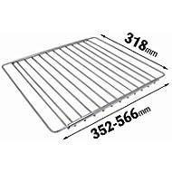 Universal-Gitter/-Ablagefach, verchromt, verstellbar, für Kühlschrank / Gefrierschrank