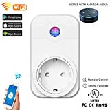 Thiroom Wi-Fi Smart Socket, Wireless Smart WLAN plug, compatible with Android and IOS Smartphone App