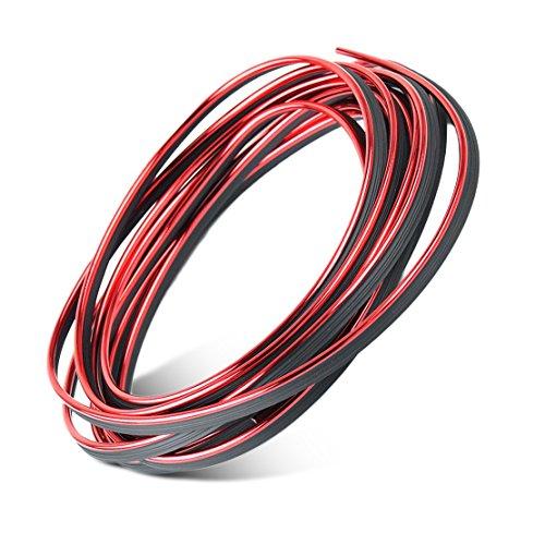 beler Galvanisiert Rot & Schwarz Auto Innenraum Dekorative Streifen Line Molding Trim - Moulding Trim