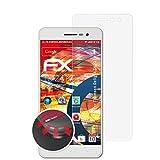atFolix Schutzfolie passend für Thomson Delight TH201 Folie, entspiegelnde & Flexible FX Bildschirmschutzfolie (3X)