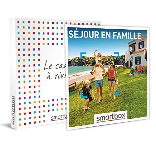 SMARTBOX - Coffret cadeau - Séjour en famille - idée cadeau - 1 nuit avec...