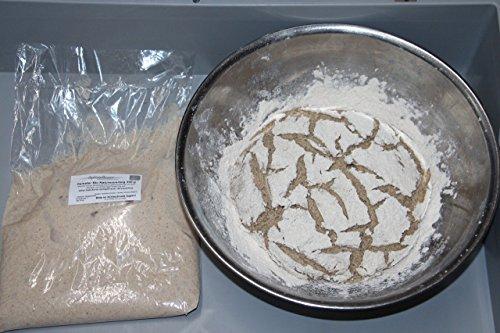 Bio Sauerteig (Roggensauer) | aus 100% Demeter Roggenmehl | frischer Natursauerteig – perfekt für Brote oder als Anstellgut – Inhalt: 300g Roggensauerteig - 3