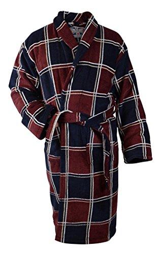 Bown of London Velours-Bademantel aus Reiner ägyptischer Baumwolle, Herren (XL) -