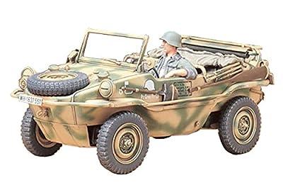 Tamiya 300035224 - 1:35 WWII Panzerkampfwagen K2s Schwimmwagen (1) T.166 von Tamiya