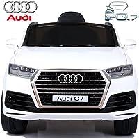 BabyCoches - Coche eléctrico para niños Audi Q7, con LICENCIA OFICIAL AUDI, MODELO 12V