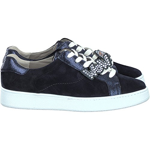 Paul Verde Scarpe Stringate Blu Scuro