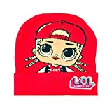 MGA L.O.L. Surprise!!! - Hüt Mütze für Mädchen - B9856X [Rot - One Size]