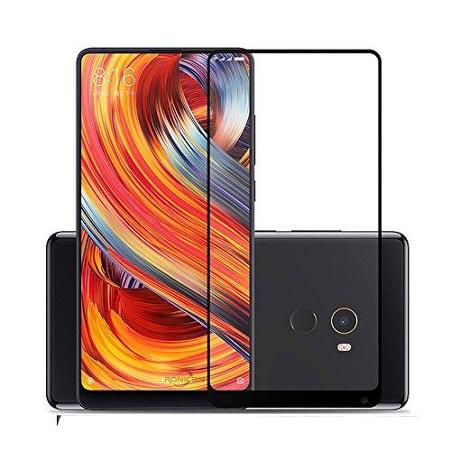 Xiaomi Mi Mix 2S Pellicola Vetro Temperato Glass, QULLOO Vetro Temperato Pellicola Protettiva Protezione Protettore Glass Screen Protector per Xiaomi Mi Mix 2S