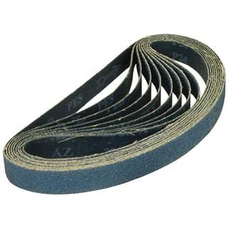 A&H Abrasives 108596, Sanding Belts, Zirconia Alumina, (y-weight), 1x42 Zirconia Alumina 36 Grit Sander Belt, 10 Each by A&H Abrasives