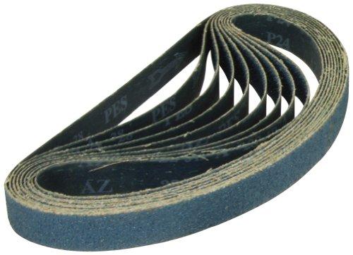 A & H Abrasives ™ 2,5x 76,2cm ZA Sander Gürtel resin-bond Wet Dry closed-coat schmal Gürtel, (y-weight) Gewebeunterlage (Entfernung Bond)