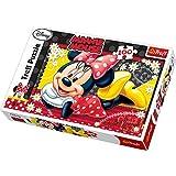Trefl 16193 - Puzzle, Disney Minnie Mouse fröhlich, 100 Teile