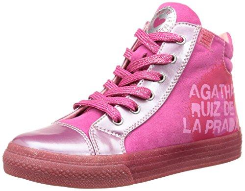 Agatha Ruiz de la Prada  Siero,  Sneaker Ragazza, Rosa (Pink (Fucsia)), 27