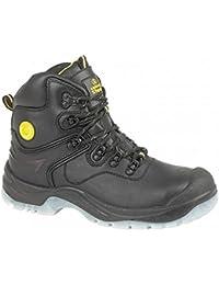 Chaussures montantes de sécurité Amblers Steel FS198 pour femme (40 EU) (Noir)