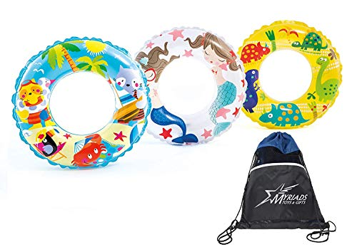 Ocean Reef Transparent Inflatable Swim Rings Set