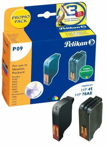 atronen PromoPack (ersetzen HP 45/78 51645A/C6578A) 3-farbig, schwarz ()