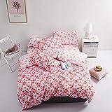Das neue Bettlaken für den Umzug klammert drei oder vier Sätze Bettwäsche für die Schule der Schüler über US-Twin
