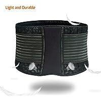 ZSZBACE Bauchgurt Rückenbandage mit Stabilisierungsstäben Verstellbarer Rückengurt Atmungsaktiv Bauchweggürtel... preisvergleich bei billige-tabletten.eu